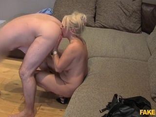 Massive Facial For Hottie Blond Momm With Chuck Loads