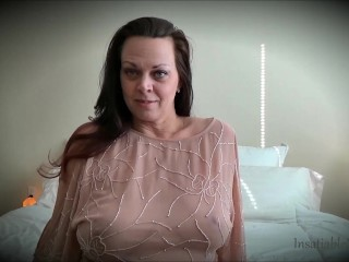 Melon taunt by Diane Andrews Sheer half-shirt fat udders fat puffies innate udders