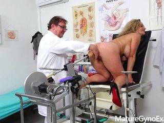 Mature Gyno Exam Ameli Monk - Fetish Video