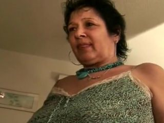 Fat Mama Gives blowage rails knob and Takes cum-shot in thick jugs
