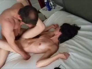 wife fucks friend while husband watches