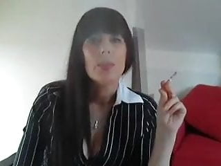 My female parent Nadalyn Douglas smoking webcam evermore