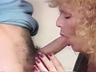 mature blonde Shablee threesome