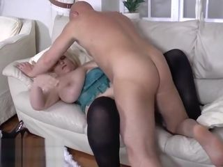 Samantha Sanders boned by a big cock