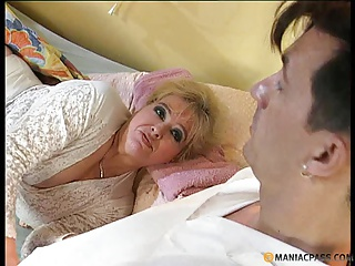 Grandma fucked in a hospital