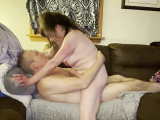 NYMPHO JUST GETTING WARMED UP FOR EPIC LONG ORGASM