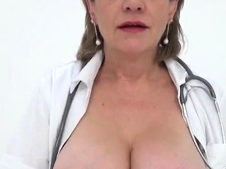 Unfaithful brit mature chick sonia introduces her giant hoot