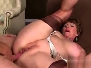 Mature assfucking Getting drilled