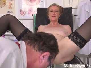 Mature Angelina Gyno Exam