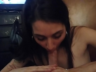 Amazing head by the hottest girl