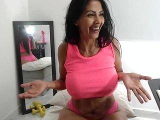 Venezuelan Mature Lady Webcam Porn Show