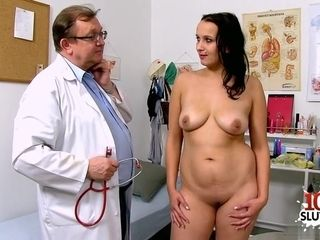 Elderly obgyn medic check-ups My wifey