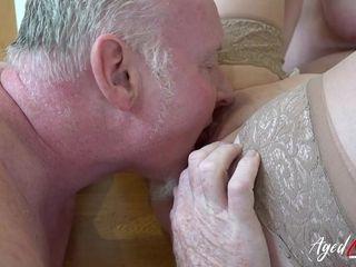 AgedLovE Arousing Mature Ladies Enjoying Hard Sex