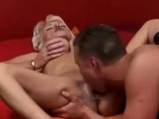 Blon highde old lady Fucks abscond side Son highn tolerate on high MyPornox com