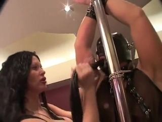 Yam-sized mounds raunchy domination & submission mom labia
