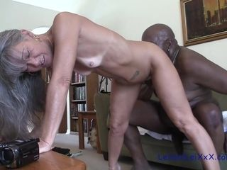 Obscene GILF multiracial pornography flick