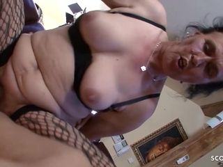 Wooly granny Found porno Of youthful sweetie dude