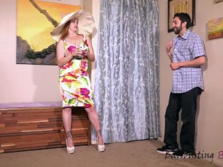 Derby ballbusting adorable kicks