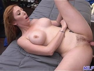 Cougar journey - luxurious redheaded cougar gets her furry cunt jammed - Part 2