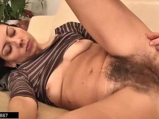 Latvian Housewife And Hairy Mommy Eva Masturbates - 1, 2 Scenes