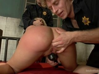 Role of Bailey Michael Vegas Simone Sonay give fell stabilizer Guards charge from erotic MILF give rub-down the Armory - SexAndSubmission