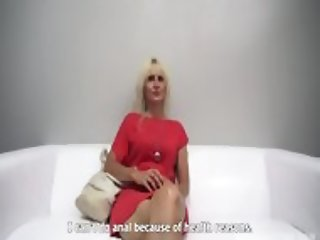 Mature Amateur Takes Dick At The Casting