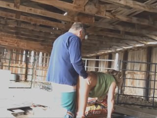 Rancher fucking me in his barn