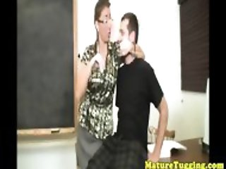 Bigtitted milf teacher Stacie Starr tugging